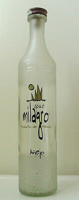 MILAGRO Anejo Selected Barrel TEQUILA 750 ml  BOTTLE - No Contents - Collectible - Milagro Anejo Tequila