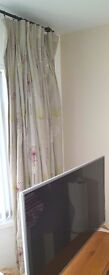 """Fully lined linen curtains 80""""w x 84""""l"""