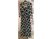 Georgede dress and jacket size 20/22 plus bag and fascinator