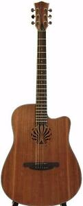 SPANISH LOOK ACOUSTIC GUITAR NATURAL 41 INCH FULL SIZE IMG842