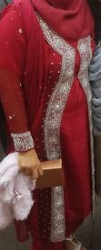 Asian Suit with embriodery jacket
