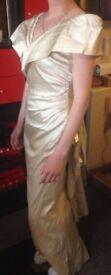 ALFRED ANGELO AMAZING IVORY TRUE VINTAGE WEDDING DRESS