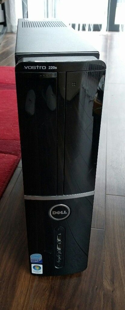 Dell Vostro 220s, Core2 Duo E7400 2.8 Ghz, 4GB RAM, everything except hard drive