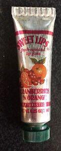 Lot of 12 Naturistics Sweet Lips Lip Gloss - Cranberries 'N Orange