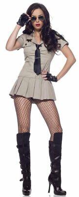 Leg Avenue Womens Sexy Sheriff Costume Dress Deputy Patrol Officer Cop Small - Patrol Officer Kostüm