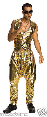 MC Hammer Rapper Costume Parachute Pants Only Adult 90s Rapper Pants 9057