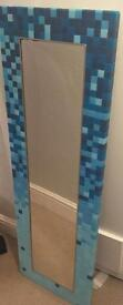 full length mosaic mirror (can be hung both ways) collection wd23 2lx -oos