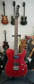 G&L Tribute ASAT Deluxe, Trans Red finish