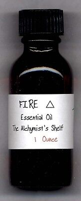 Fire Elemental Oil 1 Oz Element Wiccan pagan Ritual Spell Essential