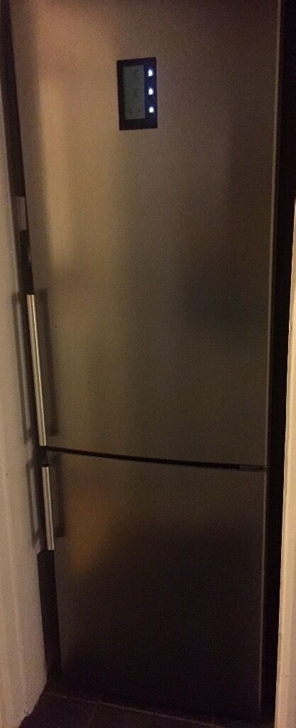 hitachi fridge freezer. hitachi fridge freezer, stainless steel, 3 years old freezer
