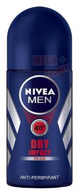 NIVEA FOR MEN DRY IMPACT ANTIPERSPIRANT DEODORANT ROLL ON