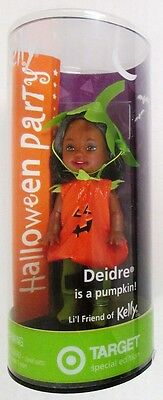Halloween Party Deidre Doll in a Pumpkin Costume (Friend of Kelly, Little Sist.. - Little Kids In Halloween Costumes