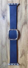 Apple Watch 38mm Modern Buckle Large Leather Strap