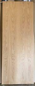 Flush Oak Door