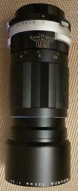 135mm camera lens for sale