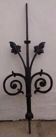 1880 Victorian Wrought Iron Roof Finnial