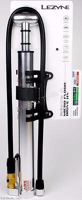 Lezyne Micro Floor Drive - Lezyne ABS Micro Floor Drive HV High Volume 90psi Bike Frame Pump Presta/AV MTB