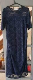 Maternity Lace Bodycon Dress - size 18