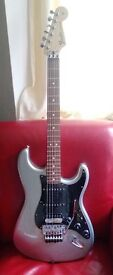 Fender Stratocaster HSS with Floyd Rose Ghost Silver 1149300581