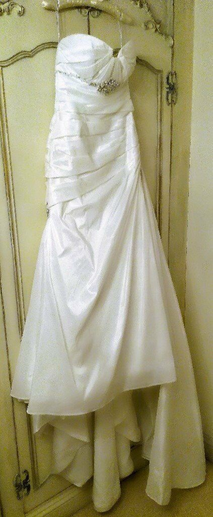 070f773488d7 MAGGIE SOTTERO HAMPTON WEDDING DRESS Ivory Lace Diamanté Embroidery Bead  Ruching Bohemian Designer