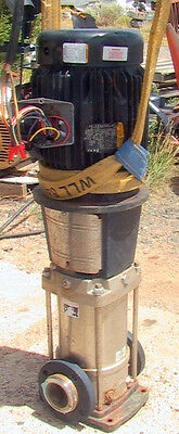 Grundfos Pump Mn A29z53547-p11212030 10hp 230-460 Vac 3-phase 3 Id 158 Gpm