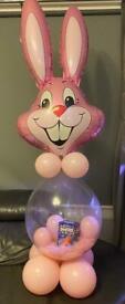 Stuffed bunny balloons