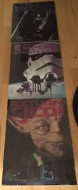 3 Star Wars posters (A2 size)