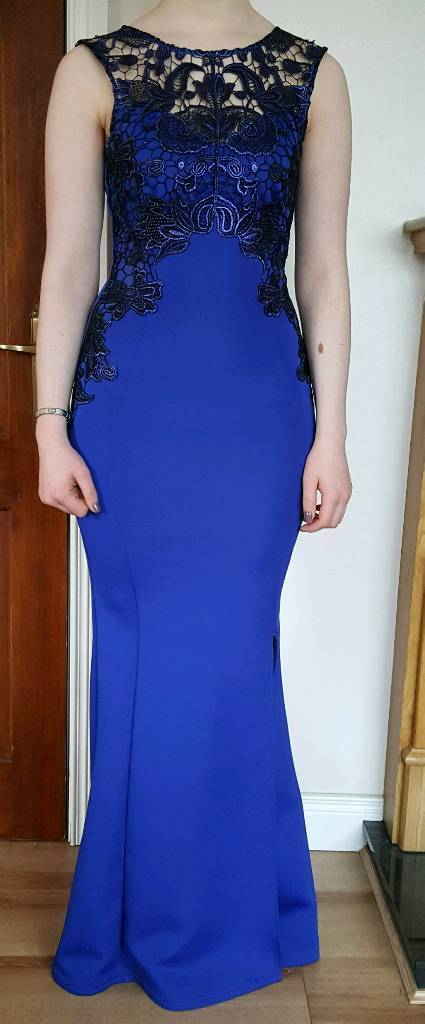 Cobalt blue LIPSY long evening dress / formal gown | in Banbridge ...