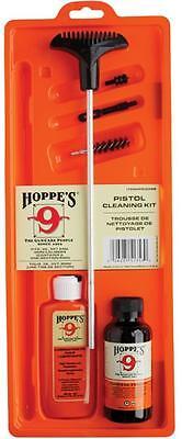 Hoppes Gun Handgun Pistol Cleaning Kit 38 Clamshell Case Aluminum Rod PCO38B NEW