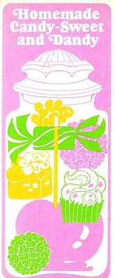 Homemade Candy Sweet   Dandy Folded Leaflet 12 Delicious Candy Recipes 1972