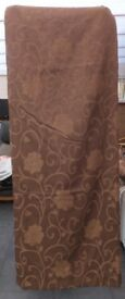 2 Pairs brown curtains
