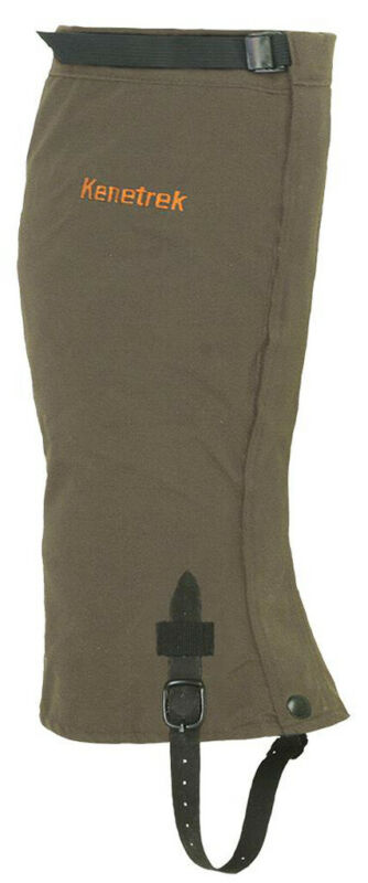 Kenetrek Unisex Large Waterproof Solid Loden Gaiter For Hunting Boots