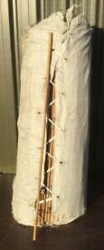 3ft bamboo canes 12-14mm diameter