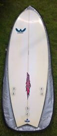 """Webber Afterburner Surfboard For Sale in Mint Condition 6'4"""" (reduced) to £150.00"""