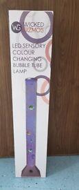 LED sensory colour changing bubble lamp
