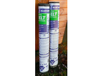Shed Roof Felt Green Mineral Finish - 5m x1m Artex Blue Hawk, Pick up only £5 per roll
