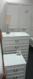 White chest of drawers - British Heart Foundation