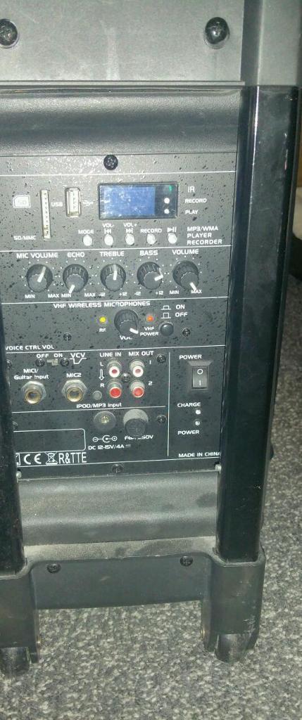 Pa system active speaker