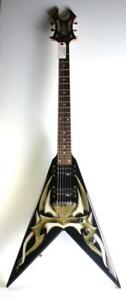 Guitare électrique B.C. Rich Kerry King V Tribal (A051507)