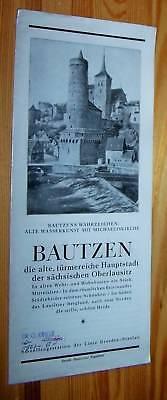 BAUTZEN - Sächsische Oberlausitz # Reise-Werbung Prospekt