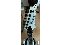 Ibanez RG350DX Electric Guitar in White, MINTCONDITION,+Padded Gig Bag