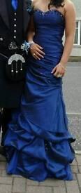 Size 8/10 (adjustable corset back) Designer Prom Dress! Absolutely stunning detailing!