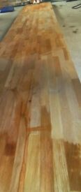 brand new kitchen hard wood work top 1 x 3m length and a 1.17m length total 4170mm