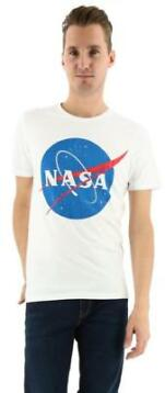 Jack & Jones Jornasa tee crew neck wit nasa_L