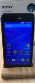Sony Xperia E4G ~ Locked to o2 network ~ EASY TO USE ANDROID