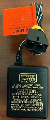 Z29~ 6 Volt Battery Charger Power Wheels Fisher Price 00801-0976 Model 040135