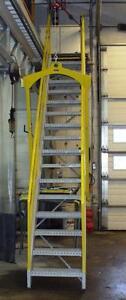 Escalier amovible industriel
