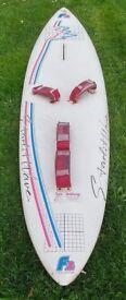 2 wind surfing boards