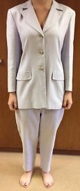 Pale Lavender Jacket and Trousers by August Silk Selections