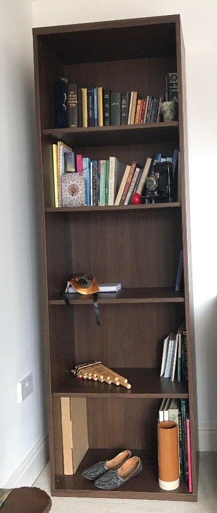 Ikea Dark Brown Bookshelf